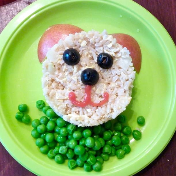 """Estimulando a alimentação da criançada através da """"Comida Divertida""""!"""