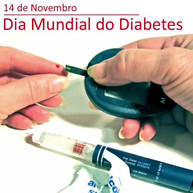 14 de Novembro - Dia Mundial do Diabetes